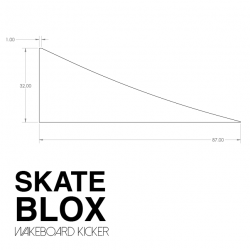 SkateBlox Wake Kicker