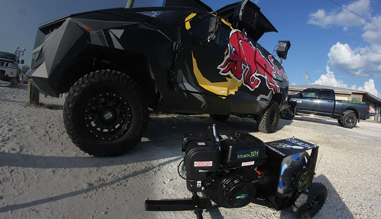 Kraken Stealth - As used by Red Bull